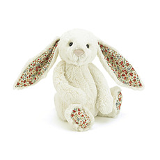 Achat Peluche Peluche Lapin Blossom Bunny - Crème