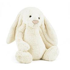 Achat Peluche Bashful Cream Bunny Huge - Peluche Lapin
