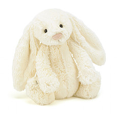 Achat Peluche Bashful Cream Bunny Medium - Peluche Lapin