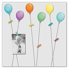 """Achat Cadre photo Pêle-mêle 6 vues """"Envolée de Ballons"""""""