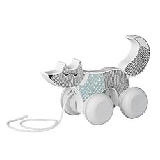 Achat Mes premiers jouets Renard à Tirer - Blanc / Mint