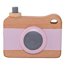 Achat Mes premiers jouets Appareil Photo en Bois - Rose Pastel