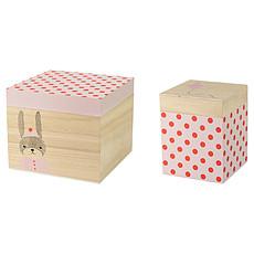 Achat Boite & Sac Boites de Rangement - Bois / Rose / Rouge