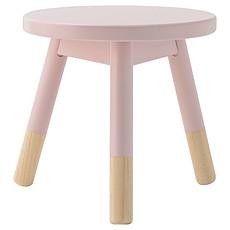 Achat Table & Chaise Tabouret en Bois - Rose Pastel