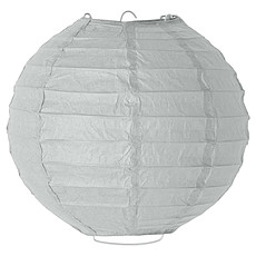 Achat Suspension  décorative Suspension en Papier ø 20 cm - Gris