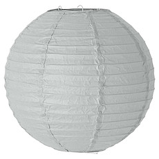 Achat Suspension  décorative Suspension en Papier ø 30 cm - Gris