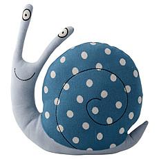 Achat Coussin Coussin Tricoté Escargot - Bleu