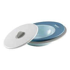 Achat Vaisselle & Couvert Set Assiettes Evolutives + Couvercle Vapeur Ellipse Blue