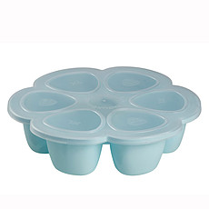 Achat Cuiseur & Mixeur Multi Portions Silicone 6 x 90 ml Blue