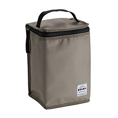 """Achat Sac isotherme Pochette Repas Isotherme """"Smart Colors"""" Taupe/Black"""