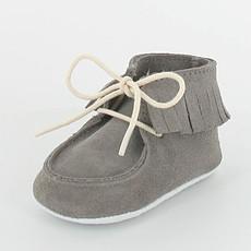 Achat Chaussures Boots à Franges DOLMEN - Gris