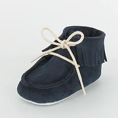 Achat Chaussures Boots à Franges DOLMEN Marine