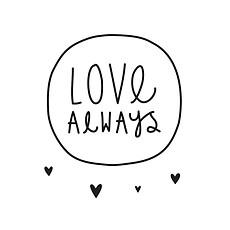 Achat Sticker Sticker Love Always