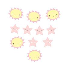 """Achat Objet décoration Guirlande Déco """"Miss Sunshine"""" à Assembler"""