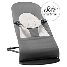 Achat Transat Transat Balance Soft Coton Jersey - Gris foncé/Gris