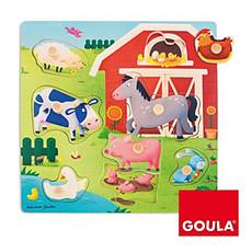 Achat Mes premiers jouets Puzzle Encastrement Mamans Bébés Ferme