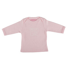 "Achat Hauts bébé Tee-shirt Manches Longues ""Daddy's Girl"" - 0/6 mois"