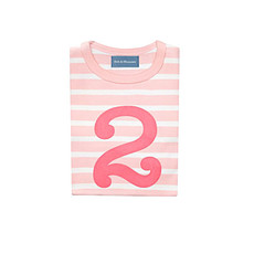 """Achat Hauts bébé Tee-Shirt Manches Longues """" 2 """" - 2/3 ans"""