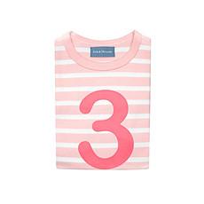 """Achat Hauts bébé Tee-Shirt Manches Longues """" 3 """" - 3/4 ans"""