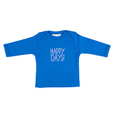 "Achat Vêtement layette Tee-shirt Manches Longues ""Happy Days"""
