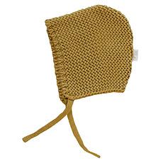 Achat Chapeau & Bonnet Béguin tricoté - cassonade