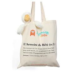 """Achat Bagagerie enfant Sac Tote Bag """"L'Armoire de Bébé"""""""