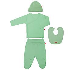 Achat Body et Pyjama Pack Cadeau Naissance - Vert Mousse / Taille 0 mois