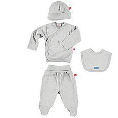 Achat Body & Pyjama Pack Cadeau Naissance - Gris Mélangé