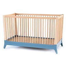 Achat Lit bébé Berceau Horizon - Bleu thalassa