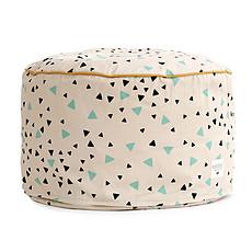 Achat Fauteuil Pouf Timbuktu - confettis vert/noir