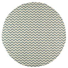 Achat Tapis Tapis Apache - zigzag bleu