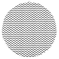 Achat Tapis Tapis Apache - zigzag noir