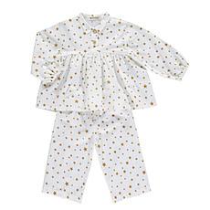 Achat Pyjama Pyjama Osaka - étoiles moutarde