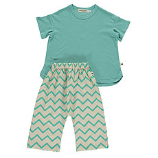 Achat Pyjama Pyjama Pondicherry - zigzag vert