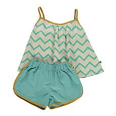 Achat Pyjama Pyjama Java - zigzag vert