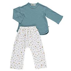 Achat Pyjama Pyjama Madras - étoiles moutarde