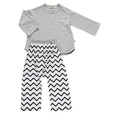 Achat Pyjama Pyjama Madras - zigzag noir - 2 ans