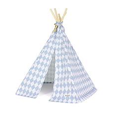 Achat Tapis éveil & Tipi Mini tipi Arizona - losanges bleus