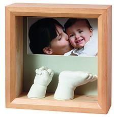 "Achat Empreinte & Moulage Kit d'Empreinte ""My Baby Sculpture"" - Cadre Empreintes 3D"