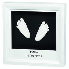 """Achat Empreinte & Moulage Kit d'Empreinte """"My Little Steps"""" - Cadre Empreintes 3D"""