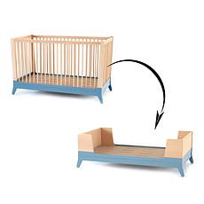 Achat Lit bébé Kit de conversion Horizon - bleu thalassa