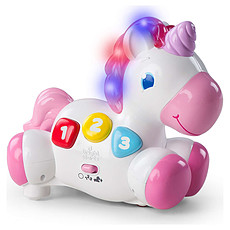 Achat Mes premiers jouets Licorne Musicale Rock & Glow™