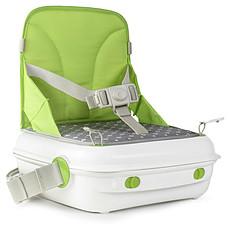 Achat Chaise haute Rehausseur Portable YummiGo - Vert/Gris