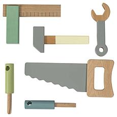 Achat Mes premiers jouets Set de 6 Outils en Bois