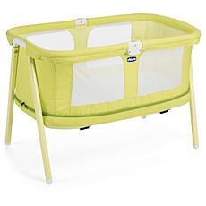 Achat Lit bébé Berceau LullaGo Zip - Lemon Drop