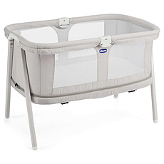 Achat Lit bébé Berceau LullaGo Zip - Light Grey