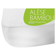 Achat Linge de lit Alèse en Bambou 60 x 120 cm