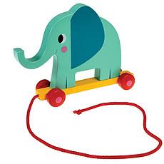 Achat Mes premiers jouets Elvis l'Eléphant à Tirer
