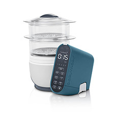 Achat Cuiseur & Mixeur Coque Nutribaby+ Soft touch blue