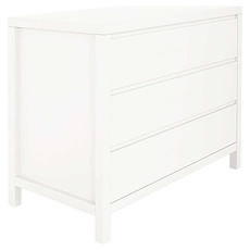 Achat Commode Commode Stripes 3 Tiroirs - Blanc
